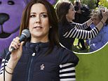 Crown Princess Mary attending the anti bullying event in the Botanical garden in Aarhus, May 30, 2015...Code: 07634LAA..Photo: Lars Aaroe/All Over Press Denmark....Pictured: Crown Princess Mary..Ref: SPL1042885  020615  ..Picture by: Splash News....Splash News and Pictures..Los Angeles: 310-821-2666..New York: 212-619-2666..London: 870-934-2666..photodesk@splashnews.com..