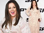 "NEW YORK, NY - JUNE 01:  Melissa McCarthy attends the ""Spy"" New York Premiere at AMC Loews Lincoln Square on June 1, 2015 in New York City.  (Photo by Gary Gershoff/WireImage)"
