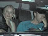EXCLUSIVE: Jannifer Lawrence and Chris Martin are in the back seat of a SUV arriving at the Chateau Marmont in Los Angeles, CA.  Jennifer quickly hid behind a seat before sneaking out in another car when leaving.  \n\nPictured: Jennifer Lawrence and Chris Martin\nRef: SPL1039683  310515   EXCLUSIVE\nPicture by: Jix Jax Joe / Splash News\n\nSplash News and Pictures\nLos Angeles: 310-821-2666\nNew York: 212-619-2666\nLondon: 870-934-2666\nphotodesk@splashnews.com\n