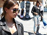 eURN: AD*171247420  Headline: FAMEFLYNET - Hailey Baldwin Sports A Leg Brace While Leaving Il Pastaio In Beverly Hills Caption: Picture Shows: Hailey Baldwin  June 02, 2015    Model Hailey Baldwin is seen leaving Il Pastaio with an injured leg after lunching with friends in Beverly Hills, CA. Hailey was looking rocker chic in a black biker jacket and ripped denim jeans.     Non Exclusive  UK RIGHTS ONLY    Pictures by : FameFlynet UK © 2015  Tel : +44 (0)20 3551 5049  Email : info@fameflynet.uk.com Photographer: 922 Loaded on 03/06/2015 at 01:08 Copyright:  Provider: FameFlynet.uk.com  Properties: RGB JPEG Image (14168K 663K 21.4:1) 1612w x 3000h at 72 x 72 dpi  Routing: DM News : GeneralFeed (Miscellaneous) DM Showbiz : SHOWBIZ (Miscellaneous) DM Online : Online Previews (Miscellaneous), CMS Out (Miscellaneous)  Parking: