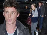 eURN: AD*171253426  Headline: Actor Eddie Redmayne and wife Hannah Bagshawe at JFK Airport Caption: Actor Eddie Redmayne and wife Hannah Bagshawe arriving at JFK Airport to catch a flight out of NY.  Pictured: Eddie Redmayne Ref: SPL1040556  020615   Picture by: Splash News  Splash News and Pictures Los Angeles: 310-821-2666 New York: 212-619-2666 London: 870-934-2666 photodesk@splashnews.com  Photographer: Splash News Loaded on 03/06/2015 at 02:44 Copyright: Splash News Provider: Splash News  Properties: RGB JPEG Image (19380K 1957K 9.9:1) 2100w x 3150h at 72 x 72 dpi  Routing: DM News : GroupFeeds (Comms), GeneralFeed (Miscellaneous) DM Showbiz : SHOWBIZ (Miscellaneous) DM Online : Online Previews (Miscellaneous), CMS Out (Miscellaneous)  Parking:
