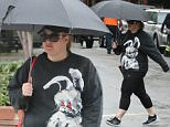 Rebel Wilson seen out and about in Tribeca, New York on a rainy day on June 2, 2015.....Pictured: Rebel Wilson..Ref: SPL1040770  020615  ..Picture by: NIGNY / Splash News....Splash News and Pictures..Los Angeles: 310-821-2666..New York: 212-619-2666..London: 870-934-2666..photodesk@splashnews.com..