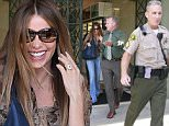 Picture Shows: Sofia Vergara  June 01, 2015\n \n 'Modern Family' actress, Sofia Vergara calls the police while shopping in Beverly Hills, California. Sofia was escorted to her SUV by a sheriff who gave the cameras a thumbs up after she left. \n \n Non-Exclusive\n UK RIGHTS ONLY\n \n Pictures by : FameFlynet UK © 2015\n Tel : +44 (0)20 3551 5049\n Email : info@fameflynet.uk.com