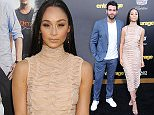 WESTWOOD, CA - JUNE 01:  (L-R) Actor Jesse Metcalfe and Cara Santana arrive at Warner Bros. Pictures Premiere of 'Entourage' at Regency Village Theatre on June 1, 2015 in Westwood, California.  (Photo by Barry King/Getty Images)