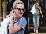 3 Jun 2015 - LONDON - UK  A FASHIONABLE KATE HUDSON IS SPOTTED IN CENTRAL LONDON IN HEELS , JEANS AND A HAPPY CAMPER  T-SHIRT . THE SASSY BLONDE ALSO SPORTED A FASHIONABLE PAIR OF SHADES.  BYLINE MUST READ : XPOSUREPHOTOS.COM  ***UK CLIENTS - PICTURES CONTAINING CHILDREN PLEASE PIXELATE FACE PRIOR TO PUBLICATION ***  **UK CLIENTS MUST CALL PRIOR TO TV OR ONLINE USAGE PLEASE TELEPHONE   44 208 344 2007 **