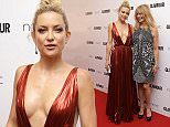 Kate Hudson and Goldie Hawn pose for photographers upon arrival at the Glamour Women Of The Year Awards in London, Tuesday, 2 June, 2015. (Photo by Joel Ryan/Invision/AP)