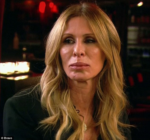 So rude: Carole Radziwill agreed that Bethenny was acting rudely toward Heather