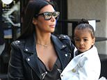 137850, Kim Kardashian takes her daughter North to a dance studio in LA. Los Angeles, California - Thursday May 28, 2015. Photograph: Juan Sharma/Bruja, © PacificCoastNews. Los Angeles Office: +1 310.822.0419 sales@pacificcoastnews.com FEE MUST BE AGREED PRIOR TO USAGE