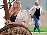 Picture Shows: Kate Upton, Alexandra Daddario  June 03, 2015    Stars films scenes in a hot air balloon at Malcolm Park for the upcoming movie 'The Layover' in St. Louis, Missouri.     Exclusive All Rounder  UK RIGHTS ONLY  Pictures by : FameFlynet UK © 2015  Tel : +44 (0)20 3551 5049  Email : info@fameflynet.uk.com