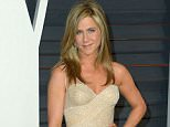 Mandatory Credit: Photo by Stewart Cook/REX_Shutterstock (4448579jm).. Jennifer Aniston.. 87th Academy Awards, Oscars, Vanity Fair After Party, Los Angeles, America - 22 Feb 2015.. ..
