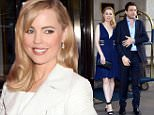 Mandatory Credit: Photo by ACE Pictures/REX_Shutterstock (4770360ae).. Melissa George and Jean David Blanc.. Celebrities out and about, New York, America - 11 May 2015.. ..