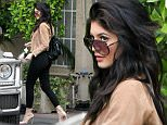 Kylie Jenner is seen running errands in Beverly Hills in Los Angeles, California.\n\nPictured: Kylie Jenner\nRef: SPL1045913  040615  \nPicture by: Bauer-Griffin/Bauergriffin.com\n\n