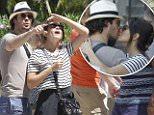EXCLUSIVE: Ian Somerhalder and Nikki Reed hang out in Miami Beach.  Pictured: Ian Somerhalder and Nikki Reed Ref: SPL1045672  040615   EXCLUSIVE Picture by: Photopress PR / Splash News  Splash News and Pictures Los Angeles: 310-821-2666 New York: 212-619-2666 London: 870-934-2666 photodesk@splashnews.com