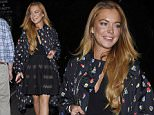 LONDON, ENGLAND - JUNE 04:  Lindsay Lohan attends Hofit Golan's Birthday at Salmontini Le Resto in Belgravia on June 4, 2015 in London, England.  (Photo by Keith Hewitt/GC Images)