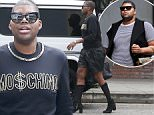Picture Shows: E.J Johnson  June 04, 2015    Reality star EJ Johnson spotted out for lunch with a friend at The Ivy Restaurant in West Hollywood, California. EJ has dropped over 100 pounds since getting on a strict workout program.    Non Exclusive  UK RIGHTS ONLY    Pictures by : FameFlynet UK � 2015  Tel : +44 (0)20 3551 5049  Email : info@fameflynet.uk.com