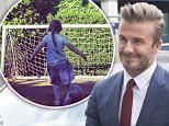MADRID, SPAIN - JUNE 3:  David Beckham is seen on June 3, 2015 in Madrid, Spain. (Photo by Iconic/GC Images)