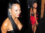 Christina Milian arrives at Club PlayHouse in Hollywood, CA on June 4, 2015.  Pictured: Christina Milian Ref: SPL1045961  040615   Picture by: DutchLabUSA / Splash News  Splash News and Pictures Los Angeles: 310-821-2666 New York: 212-619-2666 London: 870-934-2666 photodesk@splashnews.com