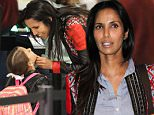 LOS ANGELES, CA, USA - JUNE 04: Padma Lakshmi and daughter Krishna Thea Lakshmi-Dell seen at LAX Airport on June 4, 2015 in Los Angeles, California, United States. (Photo by Image Press/Splash News)\n\nPictured: Krishna Thea Lakshmi-Dell, Padma Lakshmi\nRef: SPL1045047  040615  \nPicture by: Image Press / Splash News\n\nSplash News and Pictures\nLos Angeles: 310-821-2666\nNew York: 212-619-2666\nLondon: 870-934-2666\nphotodesk@splashnews.com\n