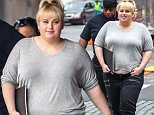 """Rebel Wilson getting ready on the film location for new movie """"How To Be Single""""..Featuring: Rebel Wilson..Where: New York City, New York, United States..When: 04 Jun 2015..Credit: WENN.com"""