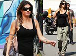 Pregnant Elisabetta Canalis goes to the Madonnina hospital clinic. She was seen taking a selfie with fans and having lunch with a friend in Milan.\n\nPictured: Elisabetta Canalis\nRef: SPL1038404  040615  \nPicture by: CM / Splash News\n\nSplash News and Pictures\nLos Angeles: 310-821-2666\nNew York: 212-619-2666\nLondon: 870-934-2666\nphotodesk@splashnews.com\n
