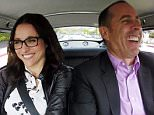 Julia Louis-Dreyfus and Jerry Seinfeld in Comedians In Cars Getting Coffee