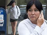 EXCLUSIVE: Shannen Doherty has a girls day out in Malibu with her mom Rosa.  The 'Beverly Hills 90210' star took her mum for a pedicure at 'Desert Sun' Salon in Malibu after a trip to opticians, '9026 Eyes' at Cross Creek.\n\nPictured: Shannen Doherty\nRef: SPL1043328  030615   EXCLUSIVE\nPicture by: Splash News\n\nSplash News and Pictures\nLos Angeles: 310-821-2666\nNew York: 212-619-2666\nLondon: 870-934-2666\nphotodesk@splashnews.com\n