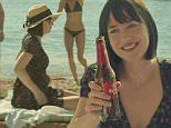 """OK"" with Dakota Johnson and directed by Quim Gutiérrez A. Amenábar. Estrella Damm 2015\nDakota Johnson in new advert for Estrella bear \nGrab from YouTube\n\n@Izraella  \n"