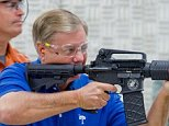 """""""Had the opportunity to shoot my AR-15 at Sharp Shooters Gun Range in Greenville on Friday August 16, 2013."""""""