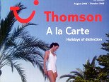 Thomson A la Carte Holiday brochure Aug 2002 - Oct 2003