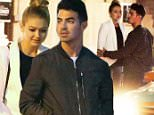 138138, EXCLUSIVE: Gigi Hadid and Joe Jonas seen making a getaway to Toronto together. Gigi and Joe attended a Maybelline New York 100th Anniversary party held at One Eighty Restaurant and went back to their hotel before heading out for dinner. The pair sparked dating rumors following the CFDA Awards where they were spotted cozying up and being affectionate with Gigi jokingly biting Joe's head in a photobooth snap. Toronto, Canada - Wednesday June 03, 2015. CANADA OUT Photograph: © PacificCoastNews. Los Angeles Office: +1 310.822.0419 sales@pacificcoastnews.com FEE MUST BE AGREED PRIOR TO USAGE