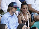 PARIS, FRANCE - JUNE 5: Owen Wilson (hat) attends day 13 of the French Open 2015 at Roland Garros stadium on June 5, 2015 in Paris, France. (Photo by Jean Catuffe/Getty Images)