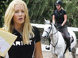 Picture Shows: Iggy Azalea  June 04, 2015    ** Min Web / Online Fee £100 For Set **    Newly engaged rapper Iggy Azalea shows off her equestrian skills while horseback riding in Calabasas, California.     It was revealed that Nick Young, got down on one knee and popped the question to Iggy at his 30th birthday party on Monday night!     ** Min Web / Online Fee £100 For Set **    Exclusive All Rounder  UK RIGHTS ONLY  Pictures by : FameFlynet UK © 2015  Tel : +44 (0)20 3551 5049  Email : info@fameflynet.uk.com