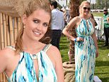 Lady Kitty Spencer attends Mahiki Pop Up Polo in the Park at Hurlingham today, Friday 5th June 2015\nPhoto by Dave Benett