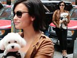 Demi Lovato Seen out and about New York with her cute pooch, on June 4, 2015.\n\nPictured: Demi Lovato\nRef: SPL1044613  040615  \nPicture by: NIGNY / Splash News\n\nSplash News and Pictures\nLos Angeles: 310-821-2666\nNew York: 212-619-2666\nLondon: 870-934-2666\nphotodesk@splashnews.com\n