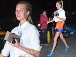 Toni Garrn and pro basketball player Chandler Parsons seen leaving 'Game' nightclub in Meatpacking, NYC.\n\nPictured: Toni Garrn\nRef: SPL1045004  030615  \nPicture by: Splash News\n\nSplash News and Pictures\nLos Angeles: 310-821-2666\nNew York: 212-619-2666\nLondon: 870-934-2666\nphotodesk@splashnews.com\n