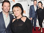 """NEW YORK, NY - JUNE 04:  Hugh Jackman and Deborra-Lee Furness attend the New York special screening of """"Dukale's Dream"""" at SVA Theater on June 4, 2015 in New York City.  (Photo by Jamie McCarthy/WireImage)"""