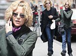 New York, NY - Meg Ryan takes a phone call as she steps out for a solo lunch in New York City.\nAKM-GSI   June 5, 2015\nTo License These Photos, Please Contact :\nSteve Ginsburg\n(310) 505-8447\n(323) 423-9397\nsteve@akmgsi.com\nsales@akmgsi.com\nor\nMaria Buda\n(917) 242-1505\nmbuda@akmgsi.com\nginsburgspalyinc@gmail.com