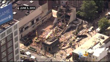 Ceremony Commemorates Center City Building Collapse