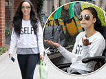 4.JUNE.2015 - LOS ANGELES - USA\nAMERICAN ACTRESS CARA SANTANA VISITS A NAIL SALON IN BEVERLY HILLS, CA. CARA WAS WEARING, SUNGLASSES, A SELFIE SWEATSHIRT WITH PINK FLIP FLOPS\nBYLINE MUST READ : XPOSUREPHOTOS.COM\n*AVAILABLE FOR UK SALE ONLY*\n***UK CLIENTS - PICTURES CONTAINING CHILDREN PLEASE PIXELATE FACE PRIOR TO PUBLICATION ***\n*UK CLIENTS MUST CALL PRIOR TO TV OR ONLINE USAGE PLEASE TELEPHONE 0208 344 2007*