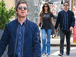 Picture Shows: Sara MacDonald, Noel Gallagher  June 05, 2015    British rocker Noel Gallagher and his wife Sara MacDonald are all smiles as they take a stroll through the East Village in New York City.    Non-Exclusive  UK RIGHTS ONLY    Pictures by : FameFlynet UK © 2015  Tel : +44 (0)20 3551 5049  Email : info@fameflynet.uk.com