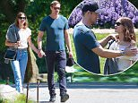 Picture Shows: Alexander Skarsgard, Alexa Chung  May 29, 2015 New couple Alexander Skarsgard and Alexa Chung take advantage of the warm New York weather and head to the Brooklyn Botanical Gardens in Prospect Park, Brooklyn, New York.      The pair kept very close as they strolled through the gardens and only stopped to take photos of each other along the way.  The couple even found a shady spot under a tree to relax and get cozy!      Exclusive All Rounder  UK RIGHTS ONLY  Pictures by : FameFlynet UK © 2015  Tel : +44 (0)20 3551 5049  Email : info@fameflynet.uk.com