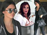 Picture Shows: Kendall Jenner  June 04, 2015\n \n Model and reality star Kendall Jenner goes to lunch in Los Angeles, California. Kendall kept it casual in a hoodie, black leggings and white trainers.\n \n Non Exclusive\n UK RIGHTS ONLY\n \n Pictures by : FameFlynet UK © 2015\n Tel : +44 (0)20 3551 5049\n Email : info@fameflynet.uk.com