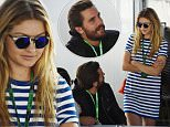 Reality star Scott Disick and model Gigi Hadid are seen at the Formula One World Championship, Canadian Grand Prix Qualifying held in Montreal, Canada.\n\nPictured: Scott Disick and Gigi Hadid\nRef: SPL1047112  060615  \nPicture by: Sutton / Corbis \n\n