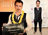 WAILEA, HI - JUNE 04:  Actor Colin Farrell, recipient of the 2015 Maui Film Festival Rainmaker Award, attends day two of the 2015 Maui Film Festival at Four Seasons Maui on June 4, 2015 in Wailea, Hawaii.  (Photo by Jonathan Leibson/Getty Images for Maui Film Festival)