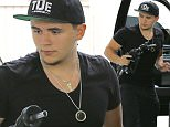 """Picture Shows: Prince Jackson  June 05, 2015\n \n Michael Jackson's eldest son, Prince, fills up the tank of his Ford F150 truck at a Chevron gas station in Los Angeles, California. This past Saturday Prince graduated with honors from Buckley High School and soon he'll be heading off to Loyola Marymount University, which he chose over USC. In a tweet from April 29th, he proclaimed, """"I've chosen LMU. I'm following what felt right for me, my family. Since 1st visit, the campus felt like home for my next 4 years."""" \n \n EXCLUSIVE All Rounder\n UK RIGHTS ONLY\n \n Pictures by : FameFlynet UK © 2015\n Tel : +44 (0)20 3551 5049\n Email : info@fameflynet.uk.com"""