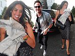 6.JUNE.2015 - LONDON - UK *EXCLUSIVE ALL ROUND PICTURES* ENGLAND MIDFIELDER FRANK LAMPARD IS JOINED BY HIS FIANCE CHRISTINE BLEAKLEY AND HIS FATHER FRANK LAMPARD SNR FOR HIS LEAVING PARTY AT THE IVY CHELSEA GARDENS IN LONDON BYLINE MUST READ : XPOSUREPHOTOS.COM ***UK CLIENTS - PICTURES CONTAINING CHILDREN PLEASE PIXELATE FACE PRIOR TO PUBLICATION *** **UK CLIENTS MUST CALL PRIOR TO TV OR ONLINE USAGE PLEASE TELEPHONE 0208 344 2007**