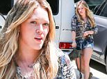 6.JUNE.2015 - SHERMAN OAKS - USA\n*STRICTLY AVAILABLE FOR UK AND GERMANY USE ONLY*\n** EXCLUSIVE ALL ROUND PICTURES **\n27-YEAR OLD SINGER AND ACTRESS HILARY DUFF AND HER SON LUCA STOP BY A FRIEND'S HOUSE IN SHERMAN OAKS\nBYLINE MUST READ : XPOSUREPHOTOS.COM\n***UK CLIENTS - PICTURES CONTAINING CHILDREN PLEASE PIXELATE FACE PRIOR TO PUBLICATION ***\n*UK CLIENTS MUST CALL PRIOR TO TV OR ONLINE USAGE PLEASE TELEPHONE 0208 344 2007*\n