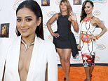 CENTURY CITY, CA - JUNE 06:  Actress Shay Mitchell attends the Lupus LA Orange Ball And A Night Of Superheroes at the Fox Studio lot on June 6, 2015 in Century City, California.  (Photo by Tiffany Rose/Getty Images for Lupus LA)