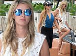 June 6, 2015: Nicky Hilton celebrates her bachelorette party with sister Paris Hilton and some other family members abourd the S.S. Groot yacht in Miami. Even though the girls have come together to celebrate Nicky's upcoming wedding, it seemed Paris stole the spotlight by constantly taking selfies and posing for the paparazzi. The group dined at popular reataurant Seaspice, before heading back to their hotel to continue the celebrations.\nMandatory Credit: INFphoto.com Ref: infusmi-11/13