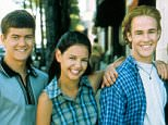 No Merchandising. Editorial Use Only. No Book Cover Usage.  Mandatory Credit: Photo by Moviestore/REX_Shutterstock (1567029a)  Dawson's Creek ,  Joshua Jackson,  Katie Holmes,  James Van Der Beek,  Michelle Williams  Film and Television